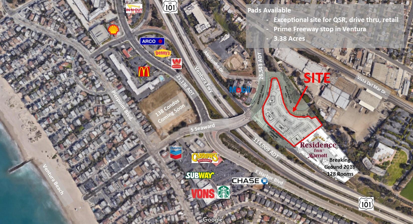 Ventura Hwy 101 S. Seaward Ave Main Pic