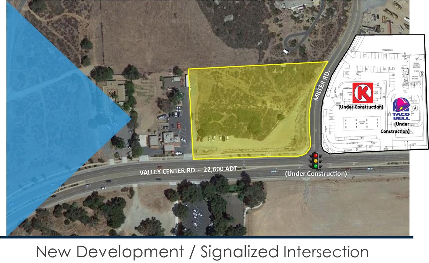 Picture2 1st Page Aerial Valley Center Rd. Development